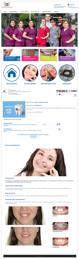 Sitio Web Clínica Dental